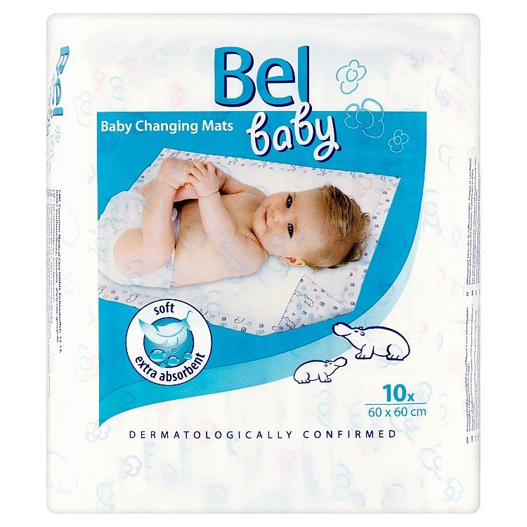 Fotografie Bel Baby dětské přebalovací podložky 60 x 60 cm 10 ks
