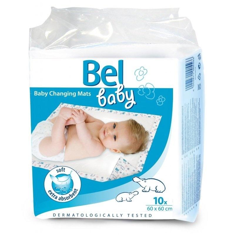 Bel Baby přebalovací podložky 60 x 60 cm 10 ks