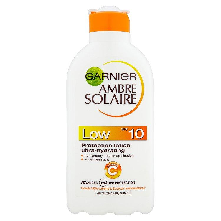 Garnier Ambre Solaire opalovací mléko OF 10 200 ml