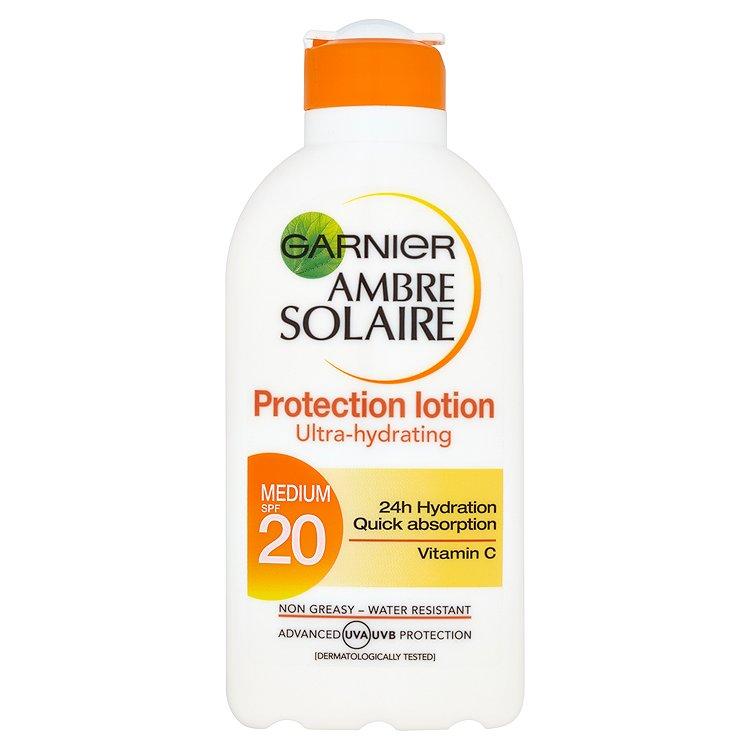 Garnier Ambre Solaire opalovací mléko OF 20 200 ml