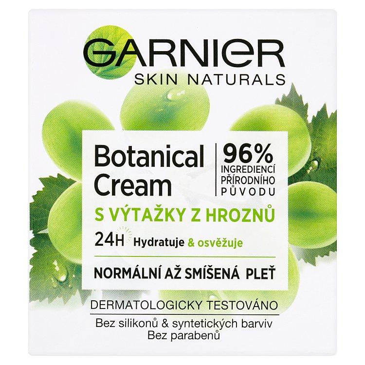 Fotografie Garnier Skin Naturals Essentials 24h, hydratační krém s výtažky z hroznového vína 50 ml