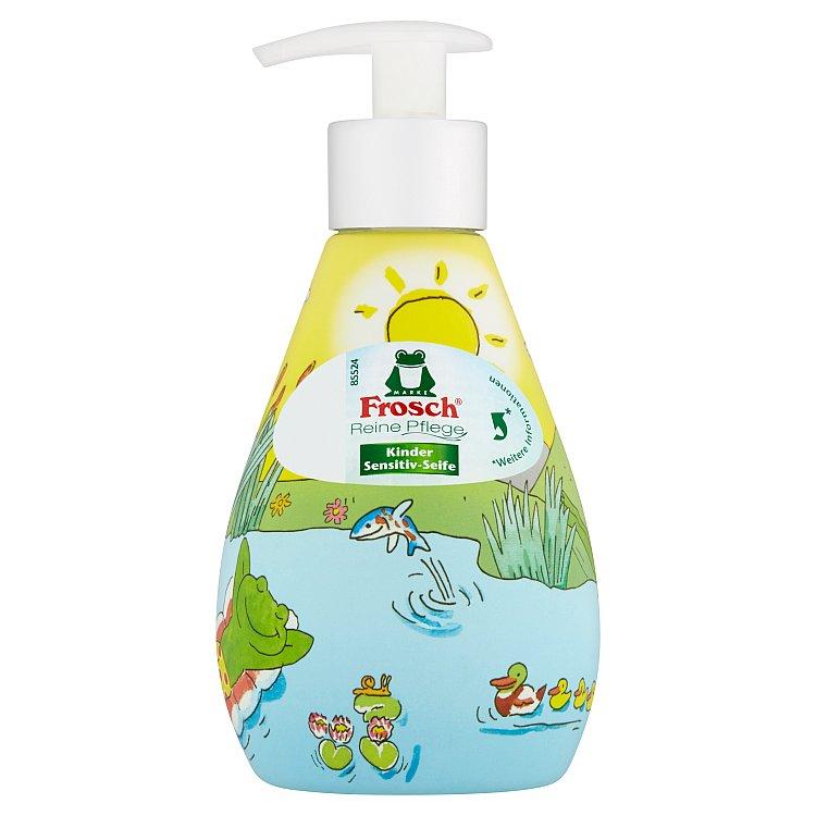 Fotografie Frosch tekuté mýdlo pro děti v dávkovači 300 ml