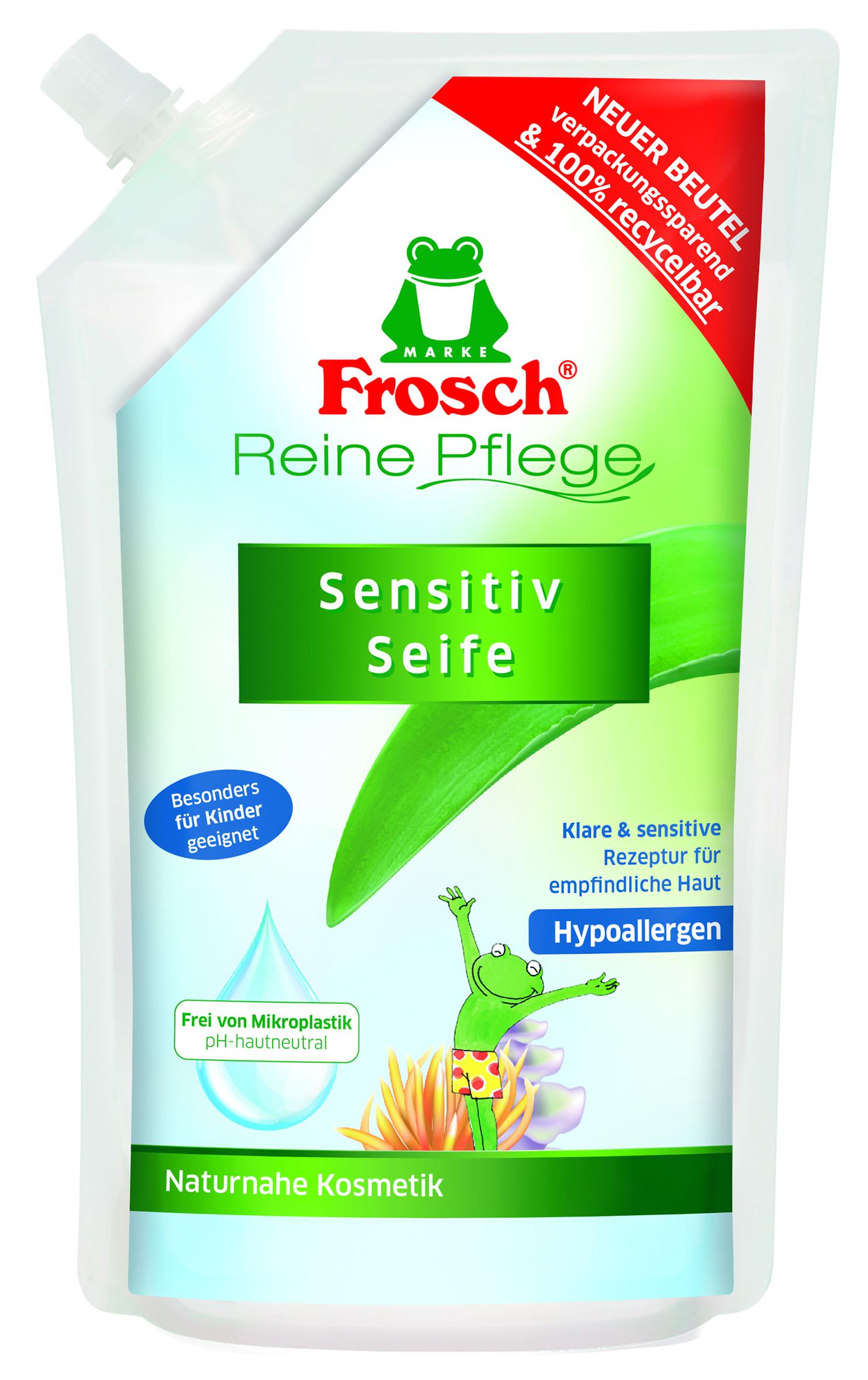 Frosch Eko tekuté mýdlo pro děti náhradní náplň 500 ml