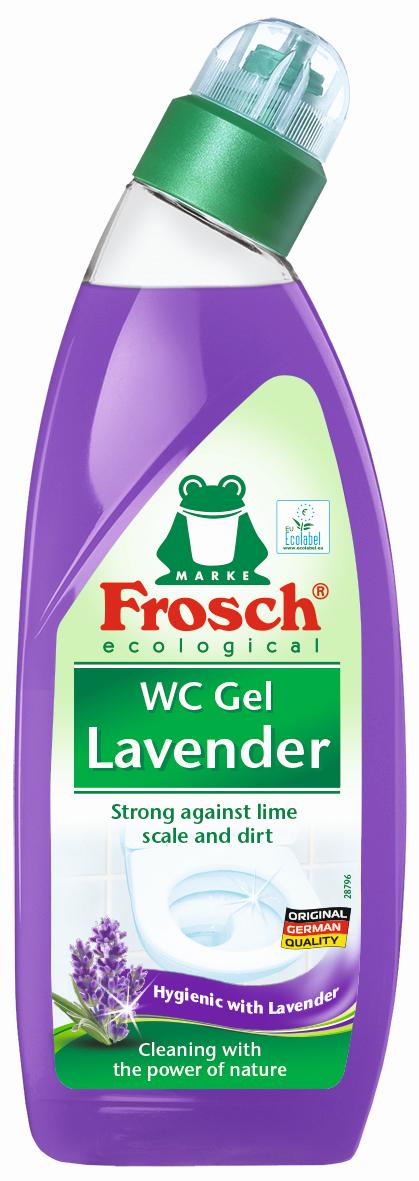 Frosch WC gel s vůní levandule 750 ml