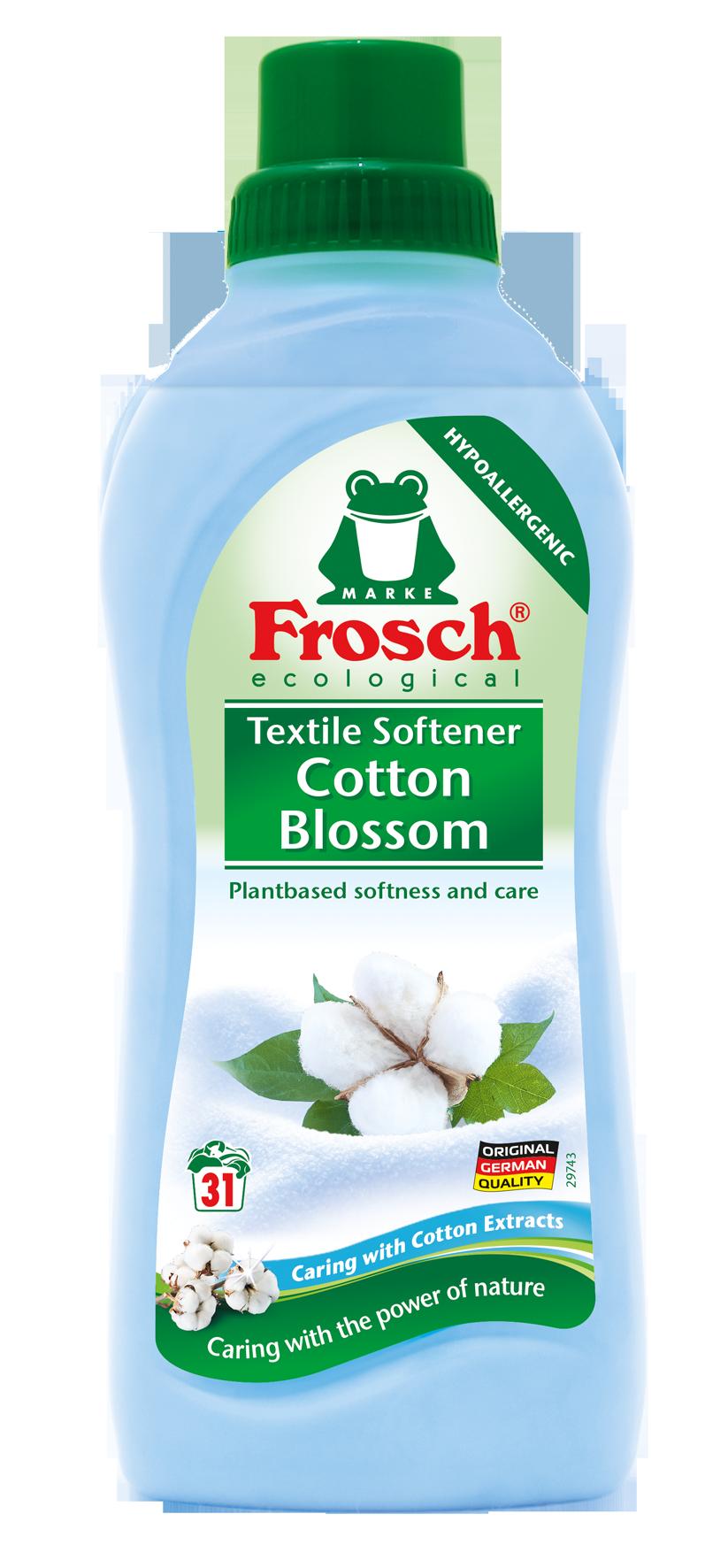 Frosch hypoalergenní aviváž květ bavlny, 31 praní 750 ml