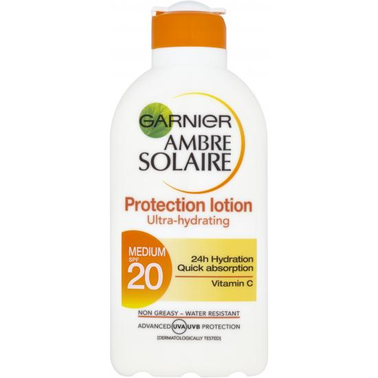 Ambre Solaire SPF 20 Protection Lotion Ultra-Hydrating mléko na opalování 200 ml
