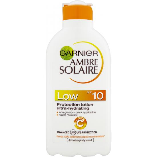 Ambre Solaire SPF 10 Protection Lotion Ultra-Hydrating opalovací mléko 200 ml