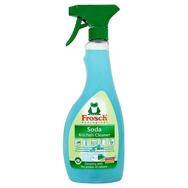 Fotografie Frosch Eko Kuchyně přírodní čistič sprej se sodou 500 ml