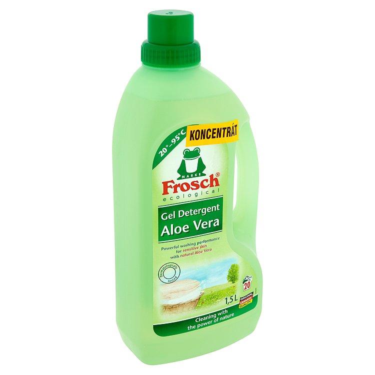 Frosch prací přípravek s aloe vera, 20 praní 1,5 l