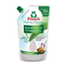 Fotografie Frosch Tekuté mýdlo s mandlovým mlékem - náhradní náplň 500 ml