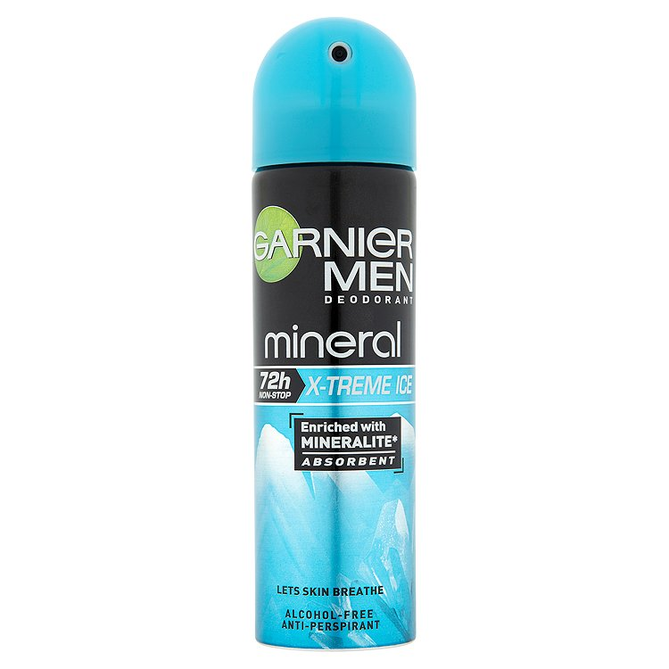 Garnier Mineral Men X-treme Ice minerální deodorant 150 ml
