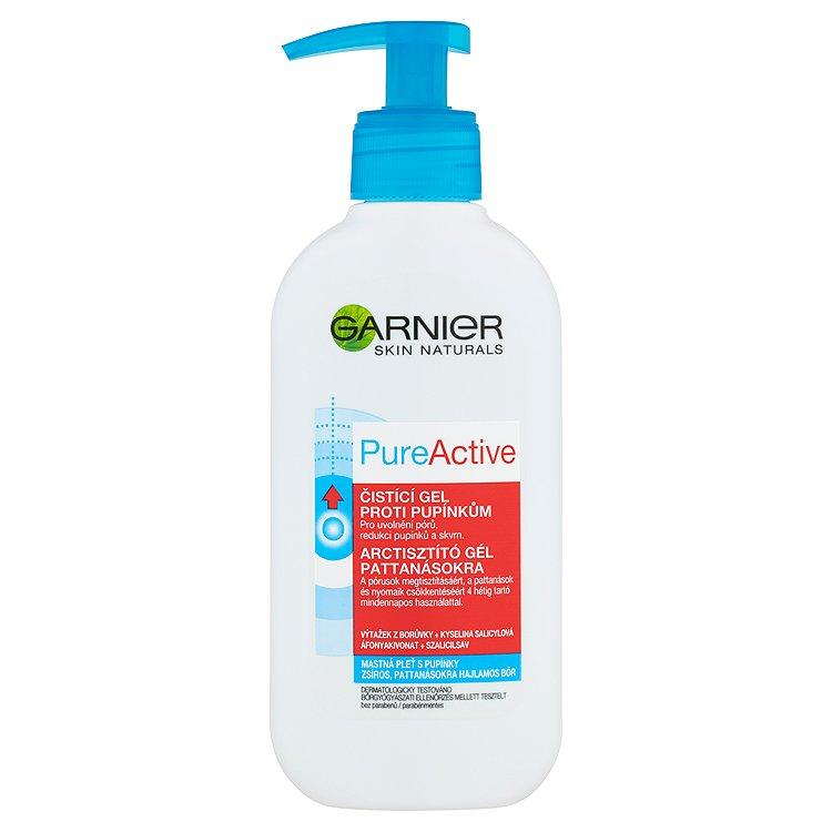 Garnier Skin Naturals Pure Active gel pro intenzivní čištění pórů 200 ml