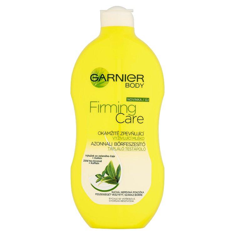 Fotografie Garnier Body Firming Care okamžitě zpevňující vyživující mléko 400 ml