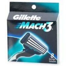 Mach 3 ( 8 ks ) - Náhradní hlavice 8 ks
