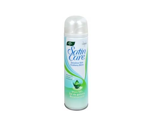 Satin Care Aloe Vera Shave Gel ( suchá pleť ) - Gel na holení 200 ml