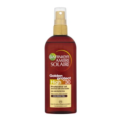 High Ambre Solaire Golden Protect SPF High 30 - Olej na opalování 150 ml
