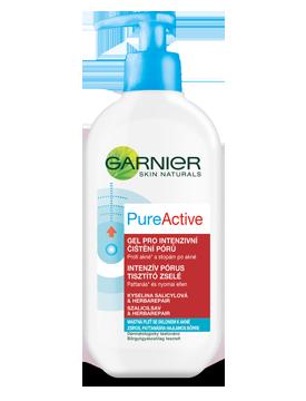 Garnier Skin Naturals Pure Active čistící gel proti pupínkům 200 ml