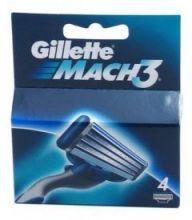 Gillette Náhradní hlavice Gillette Mach3 4 ks