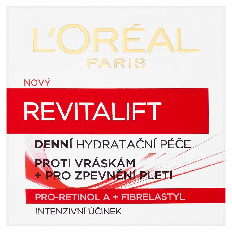 Fotografie L´Oreal Paris Revitalift Day Cream 50 ml