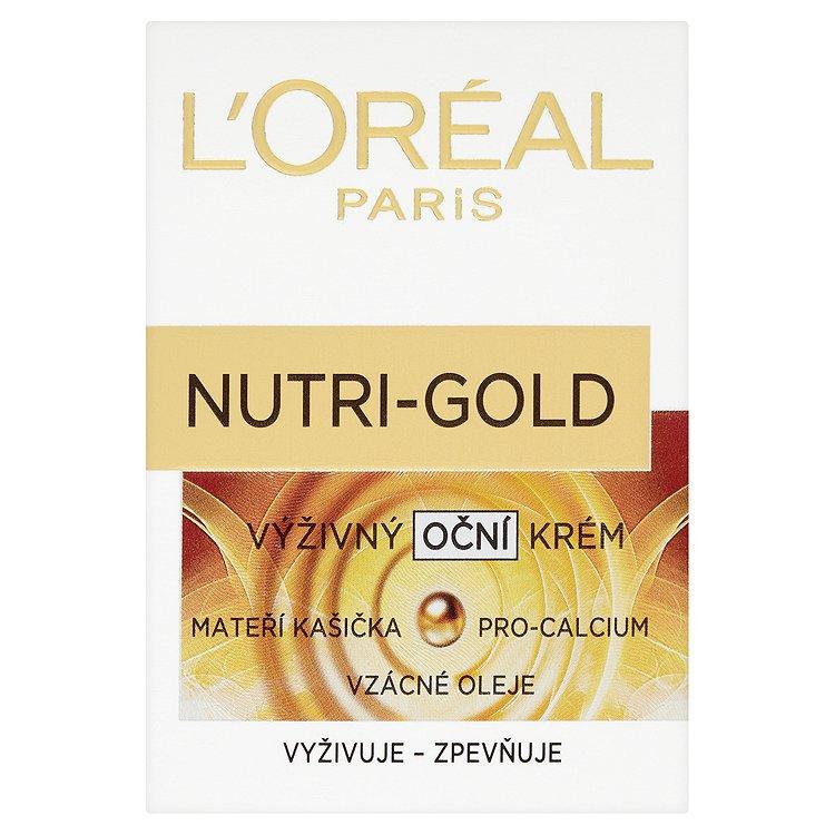 Fotografie Loreal Paris Extra výživný oční krém Nutri-Gold 15 ml