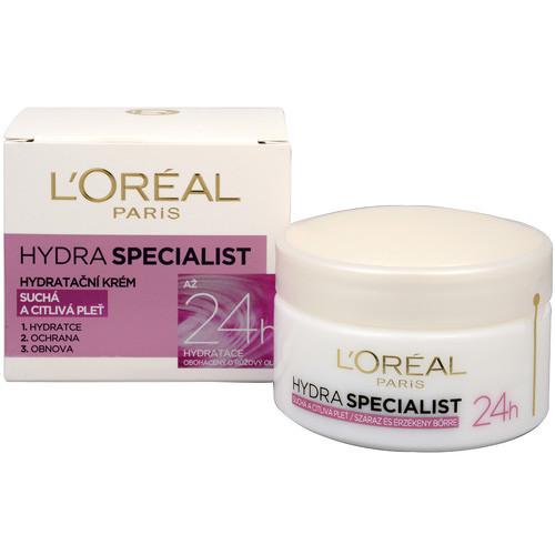 Fotografie L'Oréal Paris Hydra Specialist denní hydratační krém pro normální až smíšenou pleť 50 ml