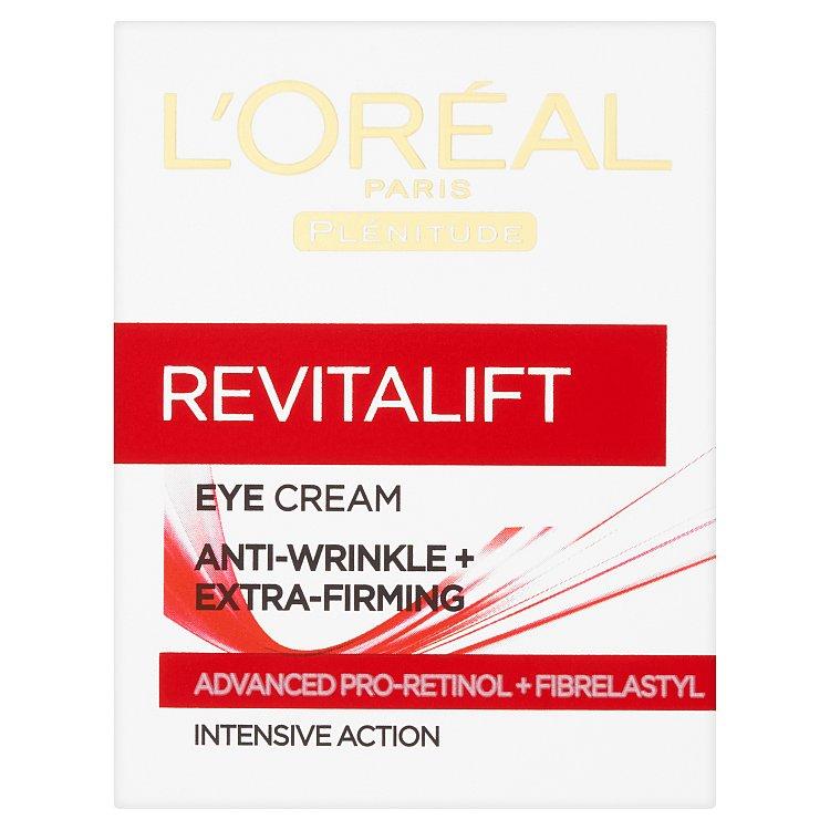 Fotografie L'Oréal Paris Revitalift oční krém 15 ml