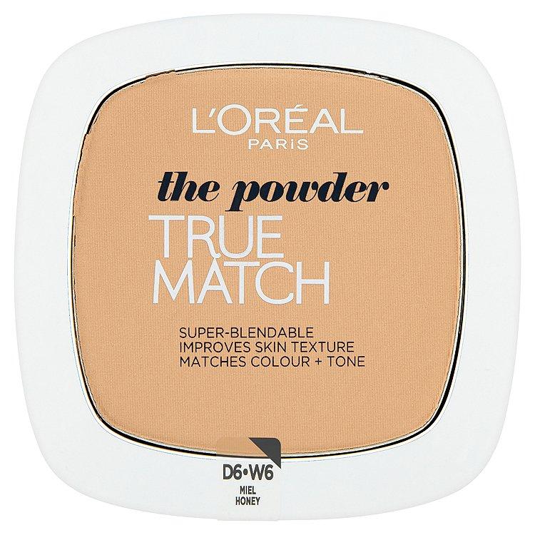 L'Oréal Paris kompaktní pudr True Match Honey W6
