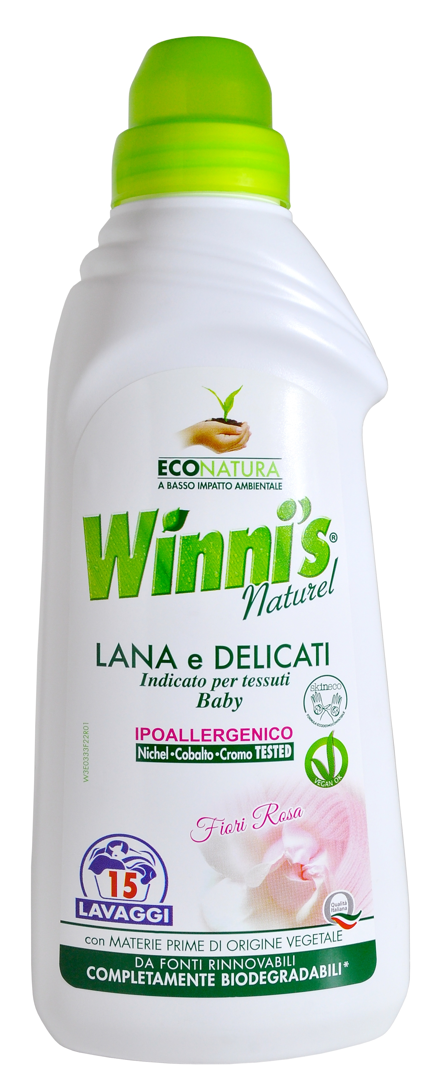 Winni's Lana tekutý prací prostředek, 15 praní 750 ml