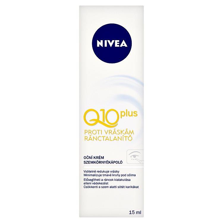 Nivea Q10 Plus, oční krém proti vráskám 15 ml