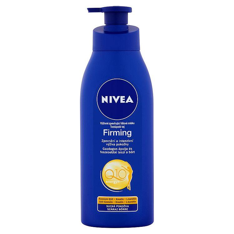 Nivea Q10 Energy+ Výživné zpevňující tělové mléko 400 ml