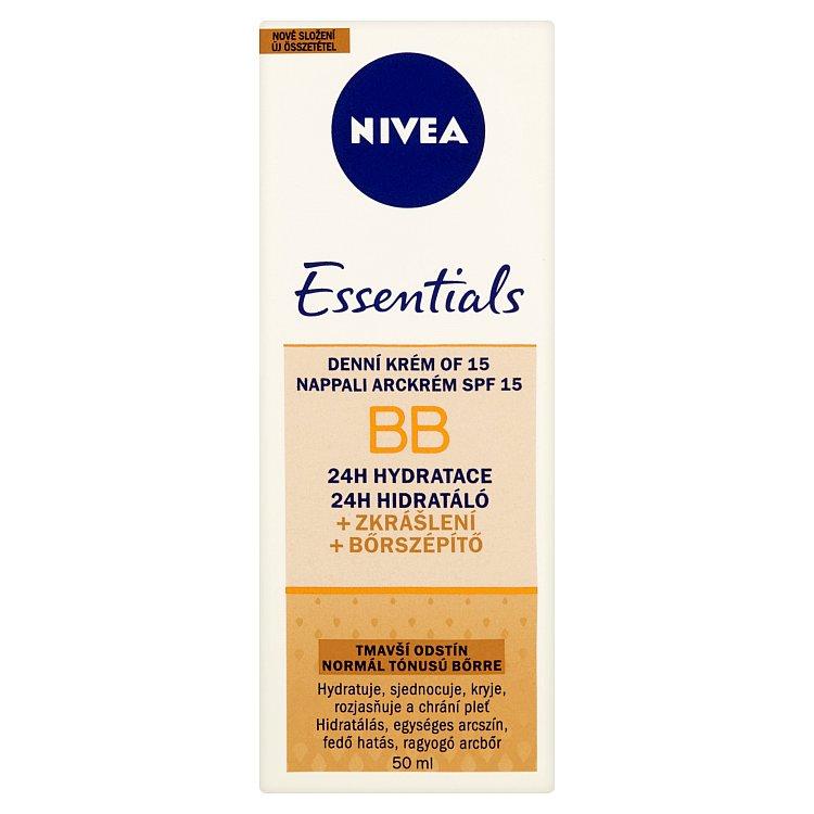 Nivea Essentials BB Denní krém OF 15 tmavší odstín 50ml