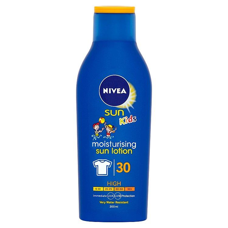 Nivea Sun Kids dětské mléko na opalování OF 30 200 ml