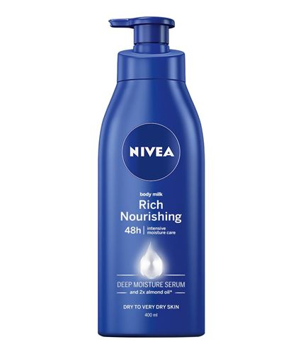 Fotografie Nivea Body Milk Výživné tělové mléko 400 ml