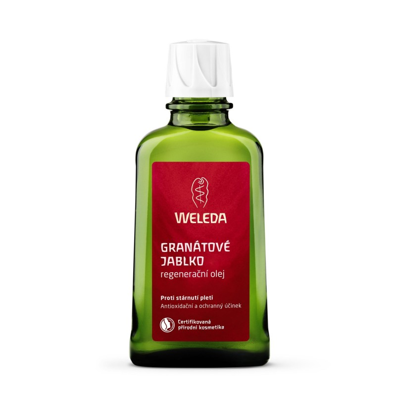 Weleda Granátové jablko regenerační olej 100 ml